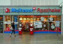 Malteser Apotheke im Hauptbahnhof